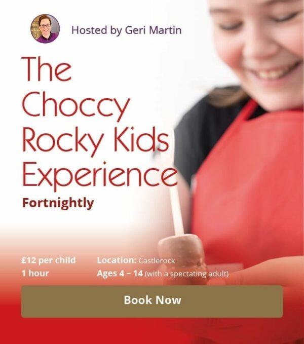 The Choccy Rocky Kids Experience