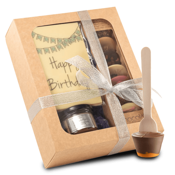 Birthday Box and Chocolate Stick