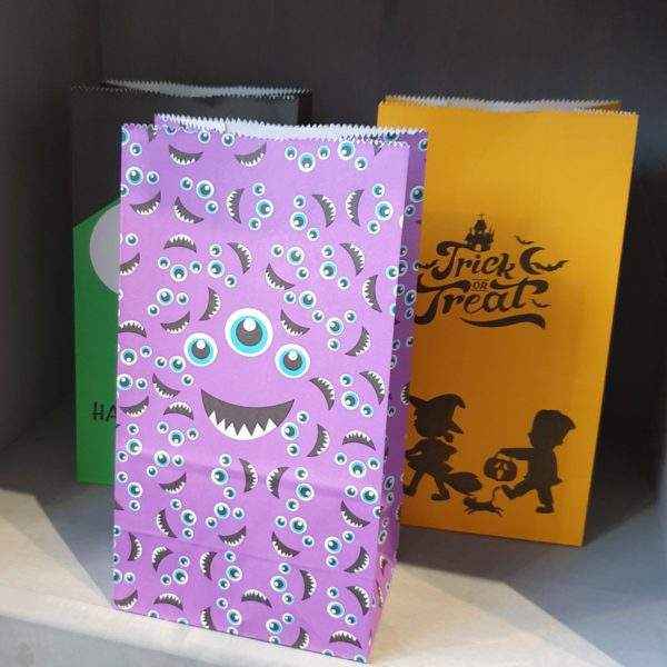 halloween pick and mix bags